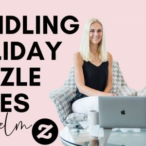 Handling the Holidays-  Zazzle Sales Overwhelm